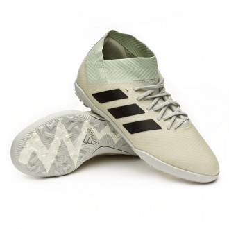 Football Boot  adidas Kids Nemeziz Tango 18.3 Turf  Ash silver-White tint