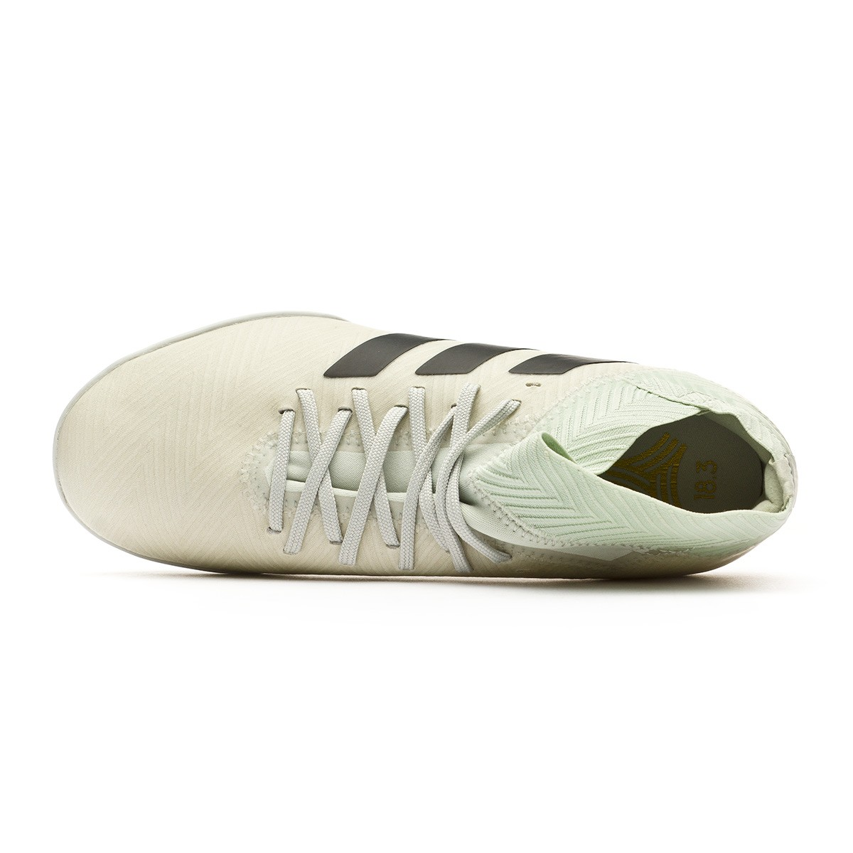 72755f3540608 Tenis adidas Nemeziz Tango 18.3 Turf Niño Ash silver-White tint - Tienda de  fútbol Fútbol Emotion