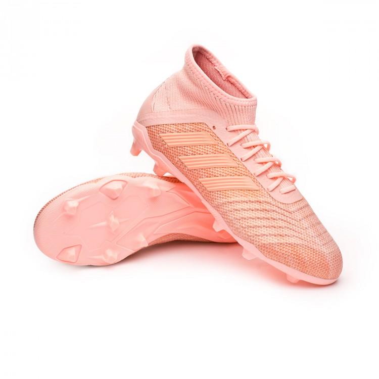 4d0adffc46 Chuteira adidas Predator 18.1 FG Crianças Clear orange-Trace pink ...