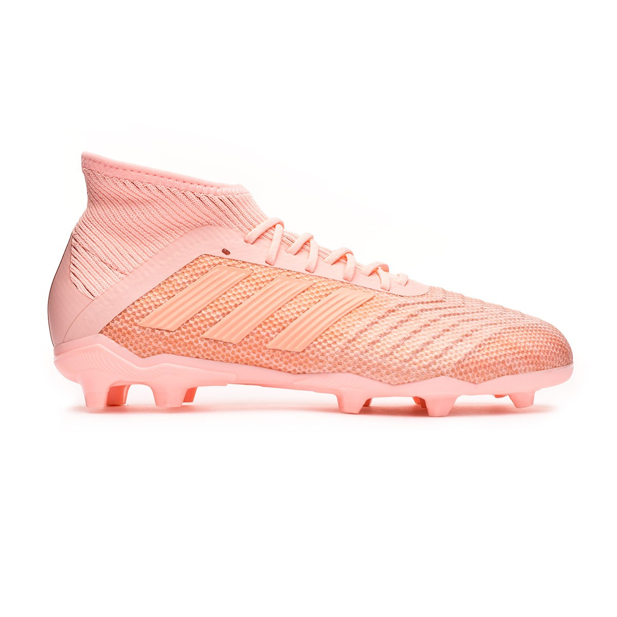 d5863ceffcf9 Football Boots adidas Kids Predator 18.1 FG Clear orange-Trace pink -  Tienda de fútbol Fútbol Emotion
