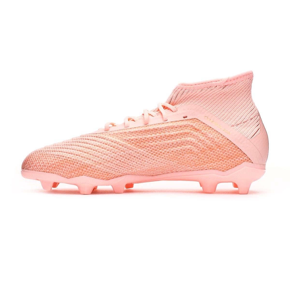 f24e1f6100ff Football Boots adidas Kids Predator 18.1 FG Clear orange-Trace pink -  Tienda de fútbol Fútbol Emotion