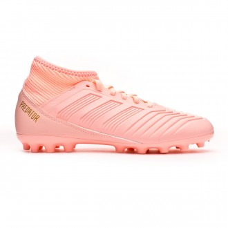 Football Boots  adidas Kids Predator 18.3 AG Clear orange-Trace pink