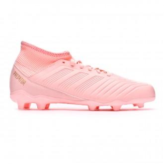 Bota  adidas Predator 18.3 FG Niño Clear orange-Trace pink