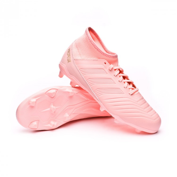 8939aafdbaa6e Football Boots adidas Kids Predator 18.3 FG Clear orange-Trace pink ...