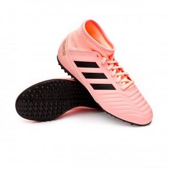 Football Boot  adidas Kids  Predator Tango 18.3 Turf Clear orange-Black-Trace pink