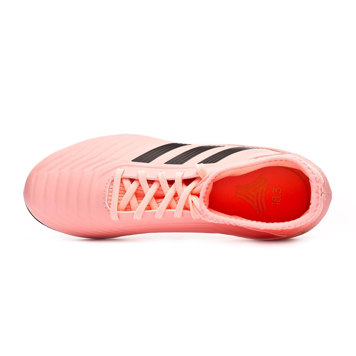95b1119562c Football Boot adidas Kids Predator Tango 18.3 Turf Clear orange-Black-Trace  pink - Football store Fútbol Emotion