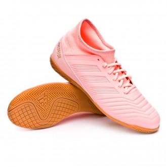 Futsal Boot  adidas Kids Predator Tango 18.3 IN Clear orange-Trace pink