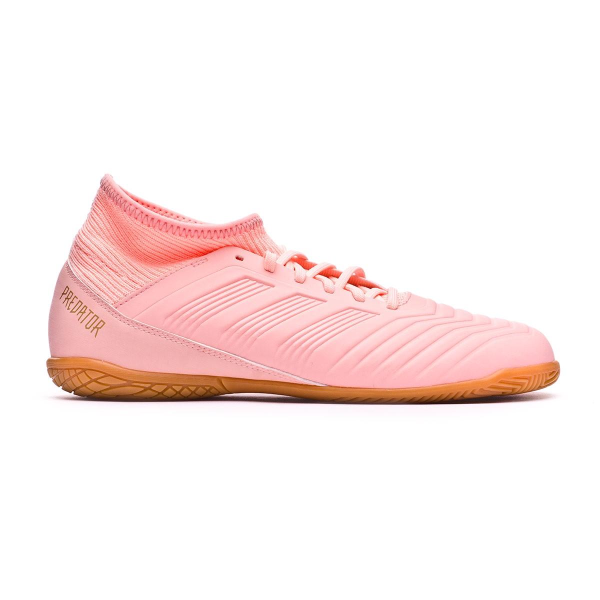 b4430f9cb11 Futsal Boot adidas Kids Predator Tango 18.3 IN Clear orange-Trace pink -  Football store Fútbol Emotion