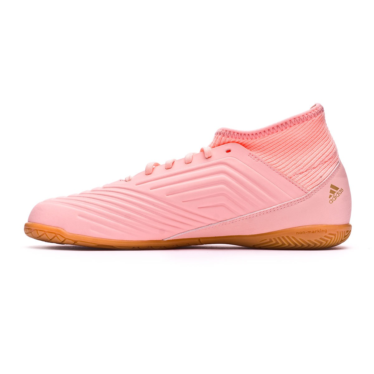 6c4bc4e2857 Futsal Boot adidas Kids Predator Tango 18.3 IN Clear orange-Trace pink -  Football store Fútbol Emotion