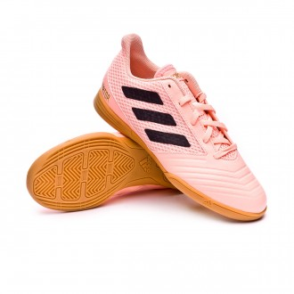 Chaussure de futsal  adidas Predator Tango 18.4 Sala enfant Clear orange-Black-Clear orange
