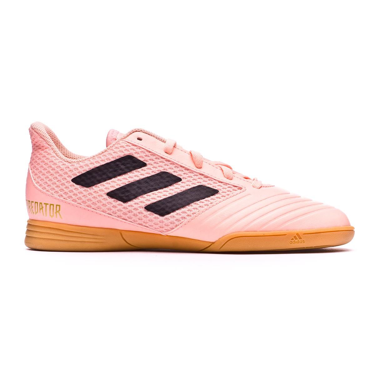 db139ce1826c Futsal Boot adidas Kids Predator Tango 18.4 Sala Clear orange-Black-Clear  orange - Football store Fútbol Emotion