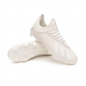 Scarpe calcio  adidas X 18.3 FG Niño Off white