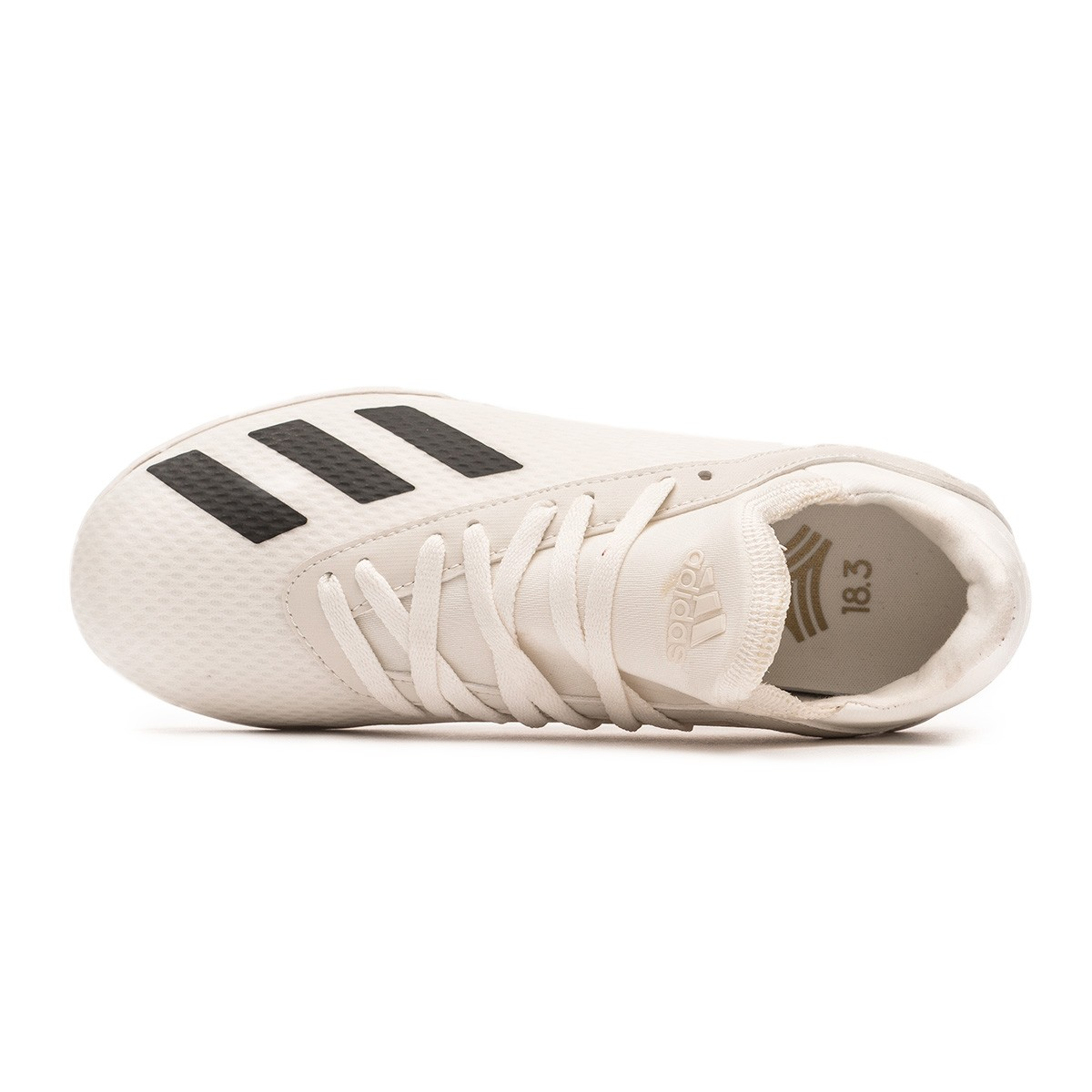 new styles ba8b1 c4a0b Chaussure de football adidas X Tango 18.3 Turf enfant Off white-White-Core  black - Boutique de football Fútbol Emotion