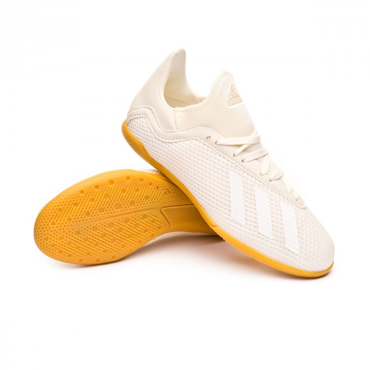 Sapatilha de Futsal adidas X Tango 18.3 IN Niño Off white-White-Core ... 7d5d20b4d23d2