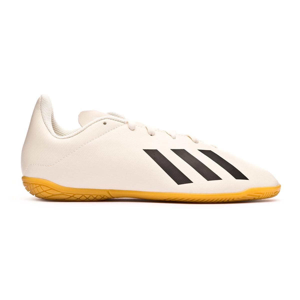 97e4ae610 Futsal Boot adidas Kids X Tango 18.4 IN Off white-White-Core black -  Football store Fútbol Emotion