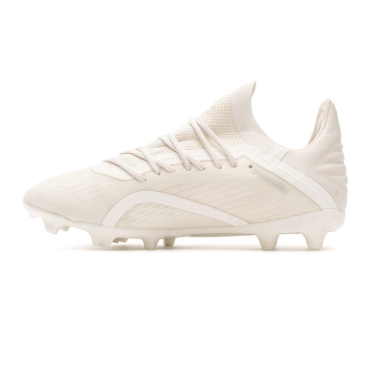 21a066505 Football Boots adidas Kids X 18.1 FG Off white-White-Core black - Football  store Fútbol Emotion