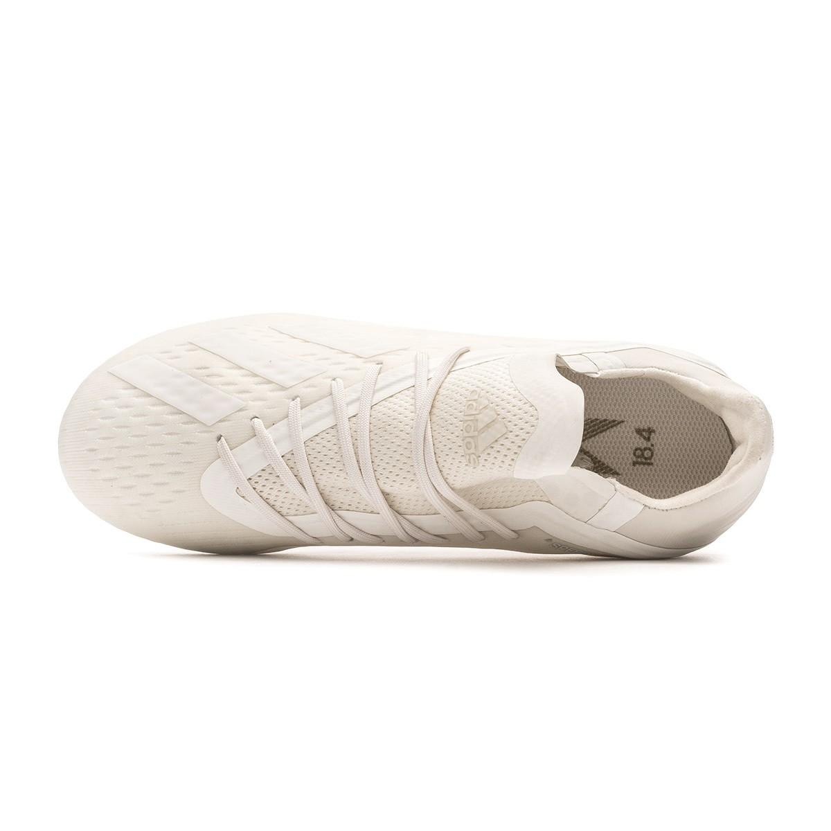 newest 5ee8f 8c78c Football Boots adidas Kids X 18.1 FG Off white-White-Core black - Tienda de  fútbol Fútbol Emotion