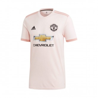 Maillot  adidas Manchester United FC Extérieur 2018-2019 Icey pink-Trace pink-Black