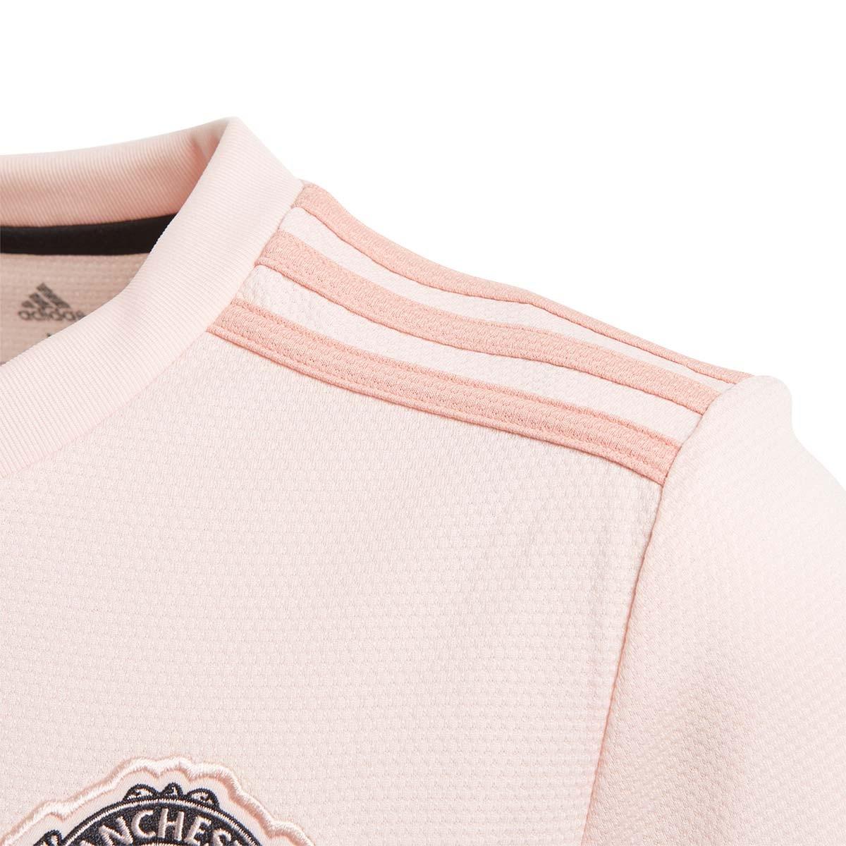 online store e621c 2cb84 Camiseta Manchester United FC Segunda Equipación 2018-2019 Niño Icey  pink-Trace pink-Black