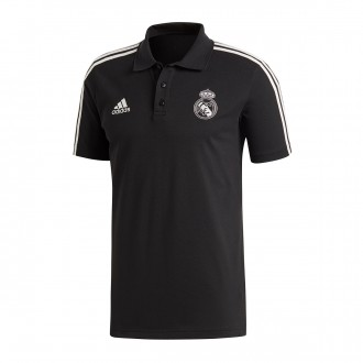 Polo  adidas Real Madrid 3S 2018-2019 Black-Core white