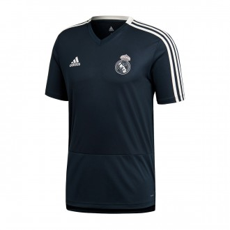 Camiseta  adidas Real Madrid Training 2018-2019 Tech onix-Black-Core white