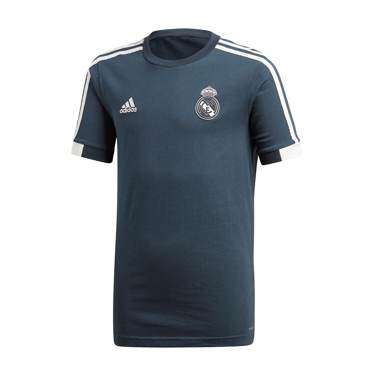 06e9ae28c Jersey adidas Kids Real Madrid 2018-2019 Tech onix-Black-Core white ...