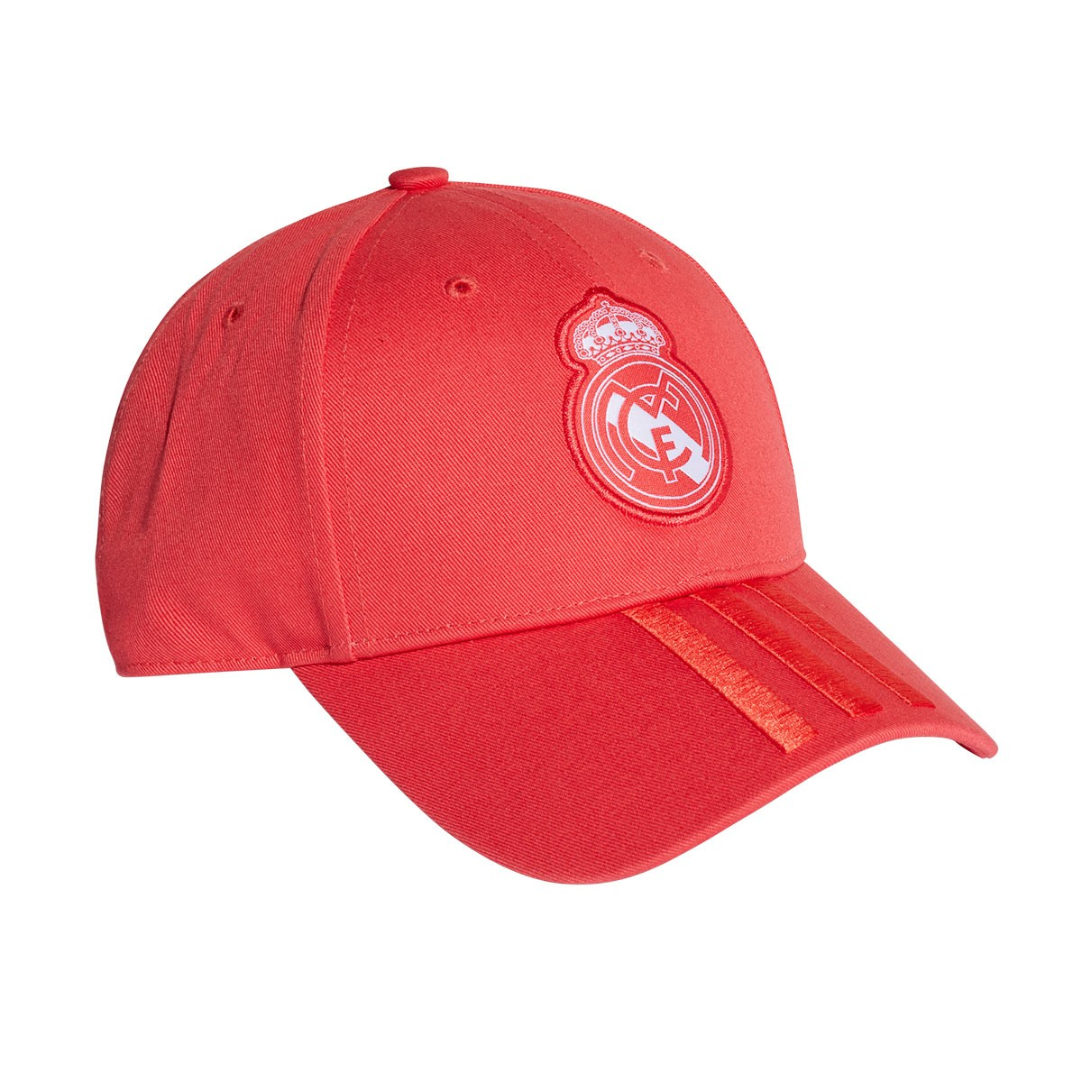 bb9b114e208 Cap adidas Real Madrid 3S 2018-2019 Real coral-Vivid red-White - Tienda de  fútbol Fútbol Emotion