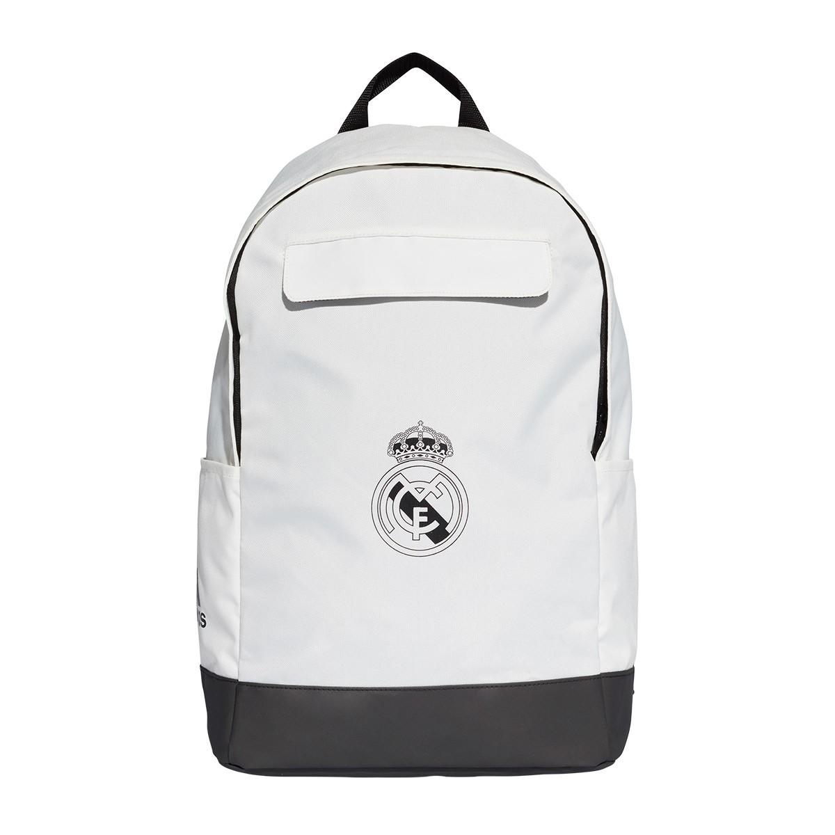 017167f8ee24c Mochila adidas Real Madrid 2018-2019 Core white-Black - Tienda de fútbol  Fútbol Emotion