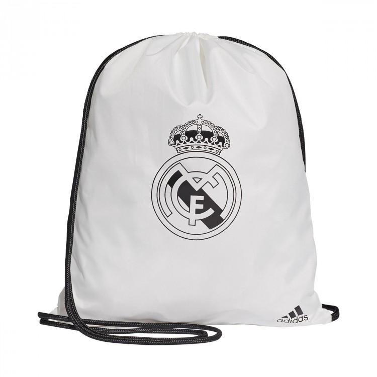f7e0da82036 Bag adidas Gymsack Real Madrid 2018-2019 Core white-Black - Leaked ...