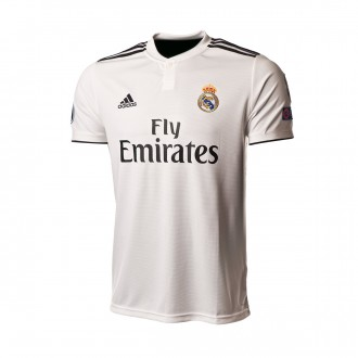 Camiseta  adidas Real Madrid UCL Primera Equipación 2018-2019 Core white-Black