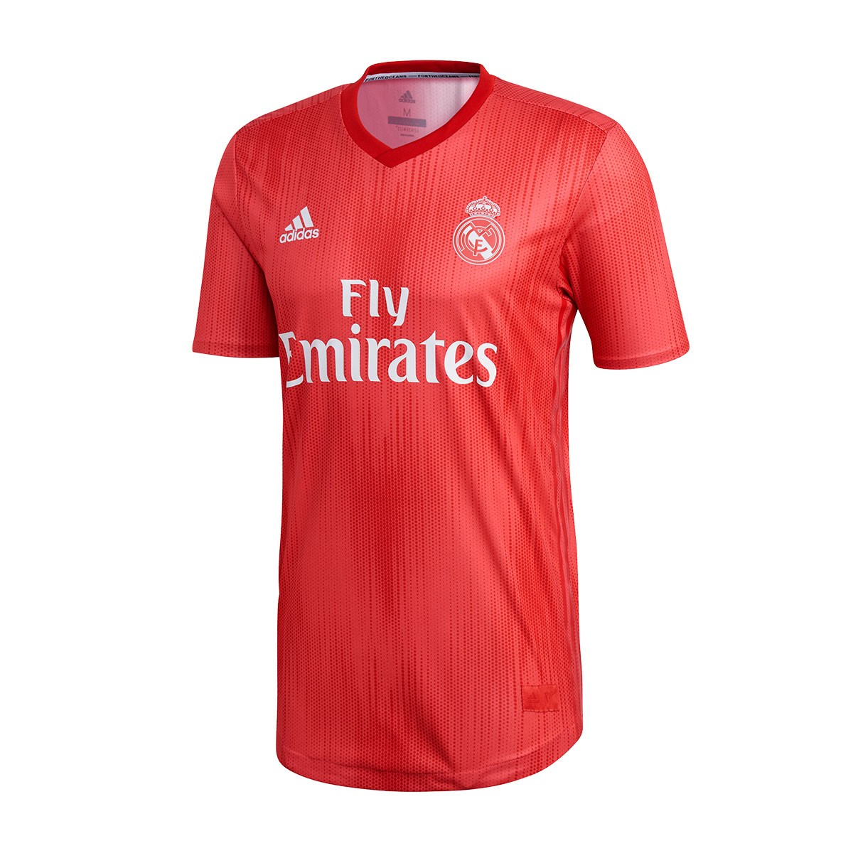 e7a15ac7b63c0 Playera adidas Real Madrid Tercera Equipación Authentic 2018-2019 Real  coral-Vivid red - Tienda de fútbol Fútbol Emotion