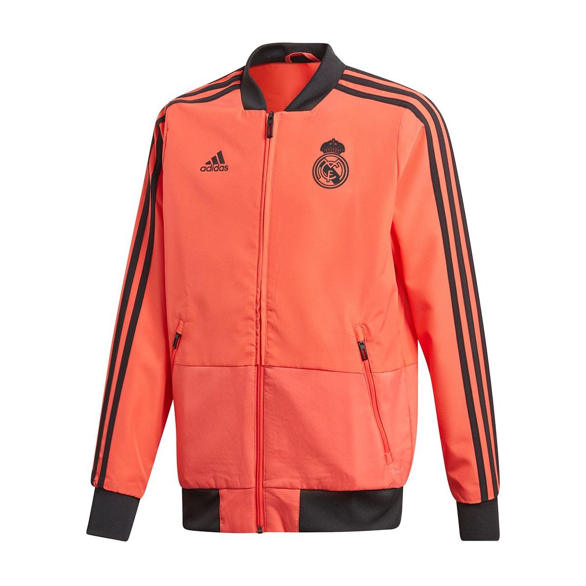 ... Chaqueta Real Madrid UCL Prematch 2018-2019 Niño Real coral-Black.  CATEGORY 50ca473ca979f