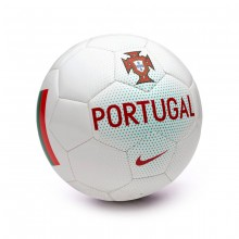 Balón Portugal Supporters White-Kinetic green-Gym red