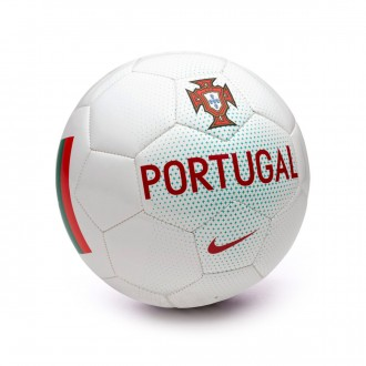 Bola de Futebol  Nike Portugal Supporters White-Kinetic green-Gym red