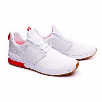 Trainers  New Balance MS574 White-Red
