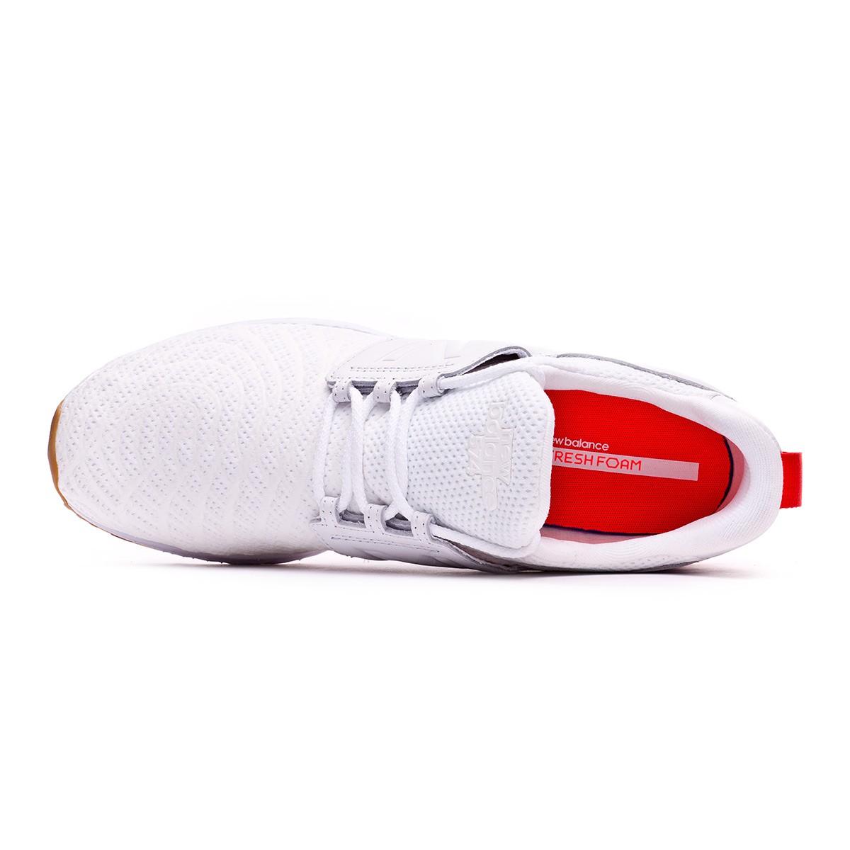 Trainers New Balance MS574 White Red Tienda de fútbol