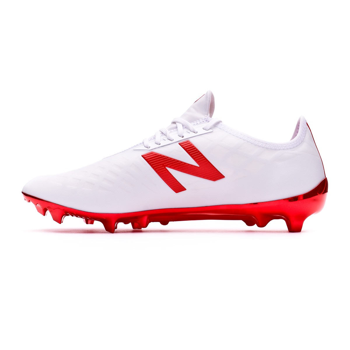 dd6907c55fb0 Football Boots New Balance Furon PRO FG White-Red - Tienda de fútbol Fútbol  Emotion
