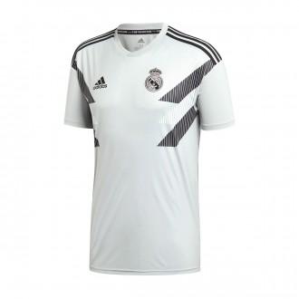 Camiseta  adidas Real Madrid Prematch Primera Equipación 2018-2019 Stone-Black