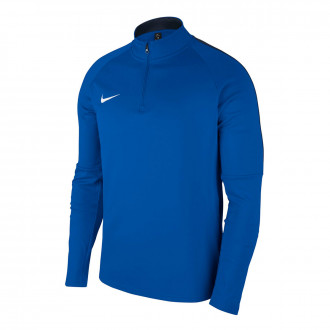 Sudadera  Nike Dry Academy 18 Niño Royal blue-Obsidian-White