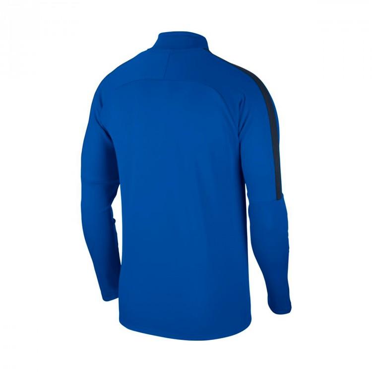 1c2ed546427 Sweatshirt Nike Kids Academy 18 Drill Royal blue-Obsidian-White ...