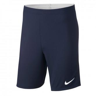 Pantalón corto  Nike Academy 18 Knit Niño Obsidian-White