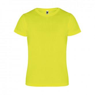 Camiseta  Roly Camimera Amarillo flúor