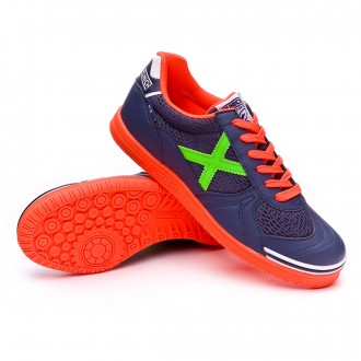 Futsal Boot  Munich G3 Blue-Orange-Green