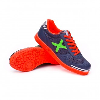 Futsal Boot  Munich Kids G3  Blue-Orange-Green