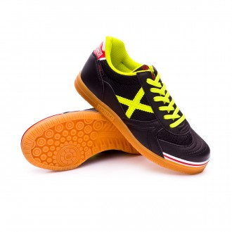 Futsal Boot  Munich Kids G-3 Indoor  Black-Yellow