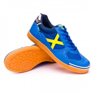 Futsal Boot  Munich G3 Blue-Yellow