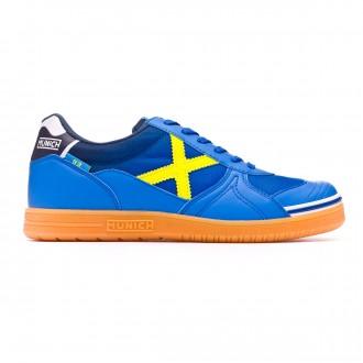 Futsal Boot Munich G3 Blue-Yellow