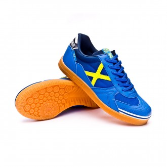 Futsal Boot  Munich Kids G3  Blue-Yellow