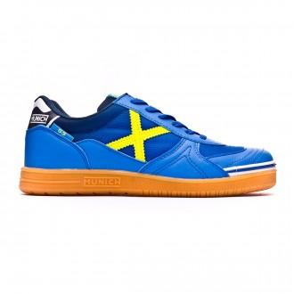 Futsal Boot Munich Kids G3  Blue-Yellow