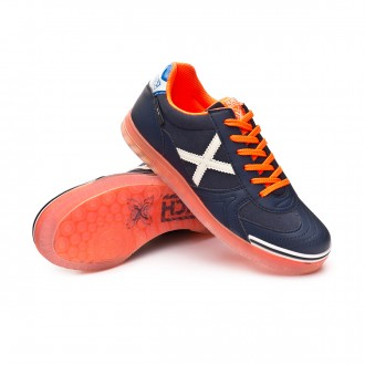 Futsal Boot  Munich Kids G3 Glow  Navy blue-Orange
